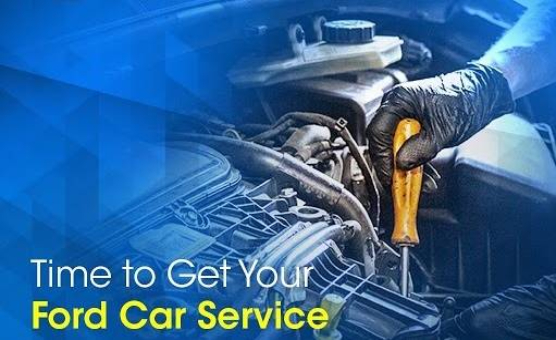 Time to get your ford car service
